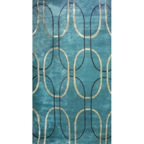 Barba Blue Pea Area Rug by George Oliver