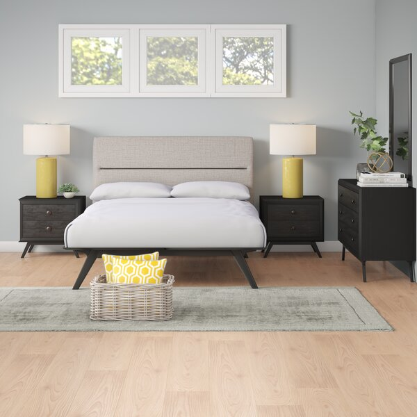 Nashua Queen Platform 5 Piece Bedroom Set by Corrigan Studio