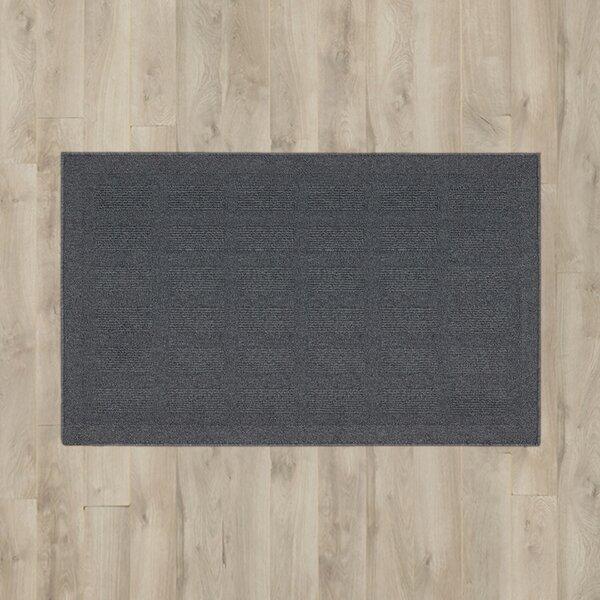 Seema Slate Area Rug by Winston Porter
