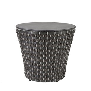 Hector Drum Rattan Side Table
