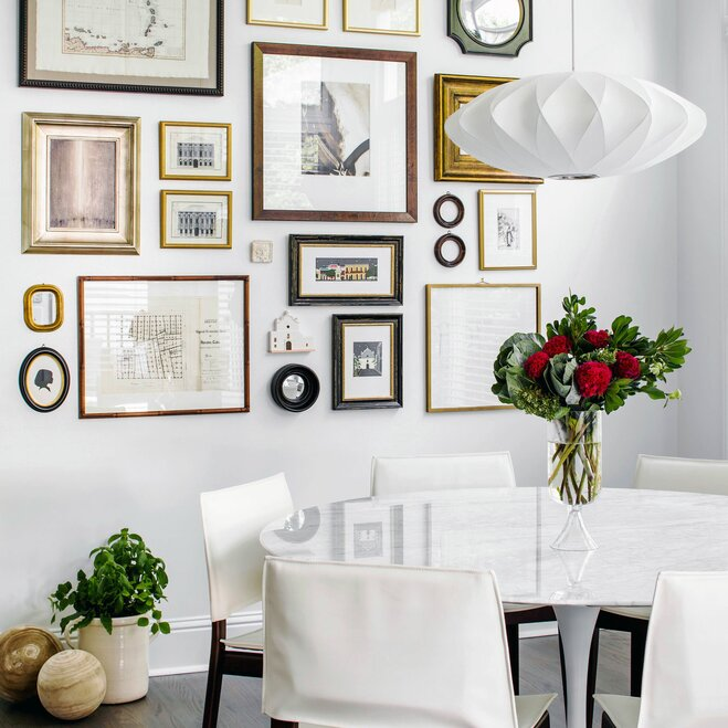 How to hang wall art wayfair for Wall hanging painting designs