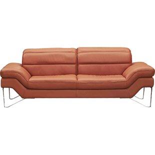 Braylen Leather Sofa by Brayden Studio
