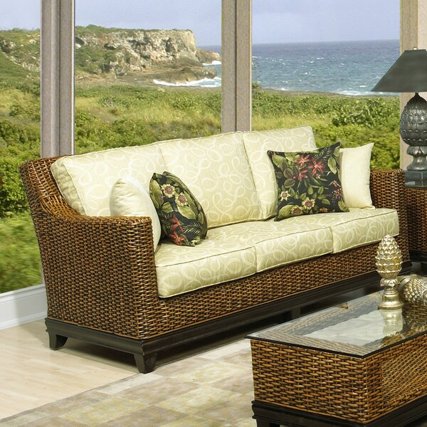 Biscayne Sofa with Cushions by Boca Rattan