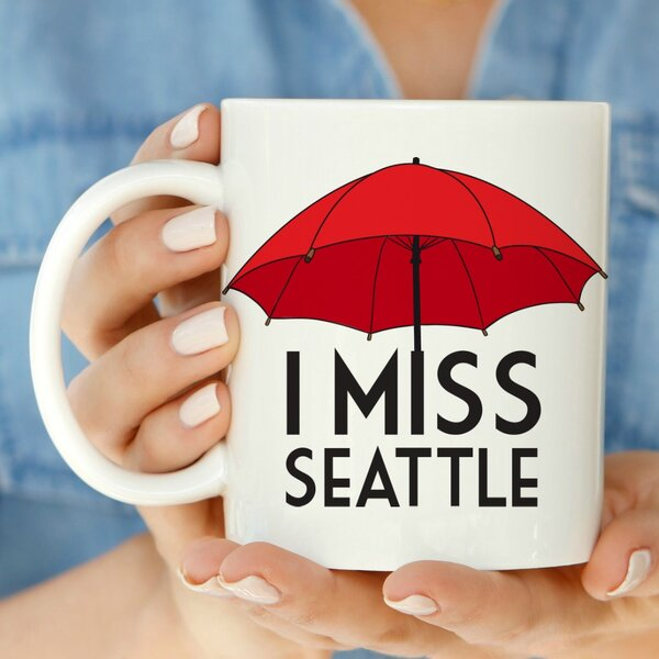 I Miss Seattle 11 oz. Mug by Love You A Latte Shop