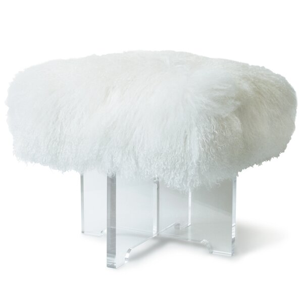Mongolian Accent Stool by Jonathan Adler