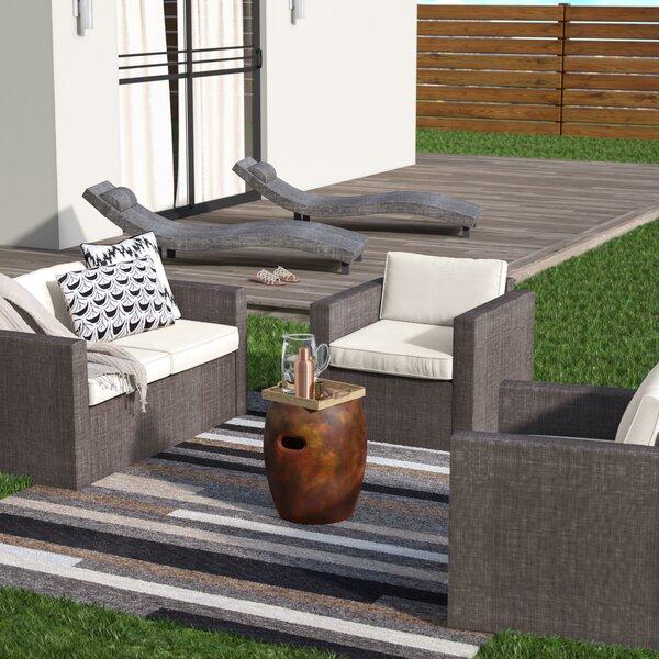 Carrigan 5 Piece Sofa Set with Cushions by Orren Ellis