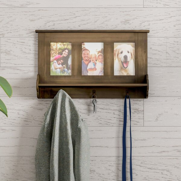 Nydia Wall Shelf Picture Frame by Gracie Oaks