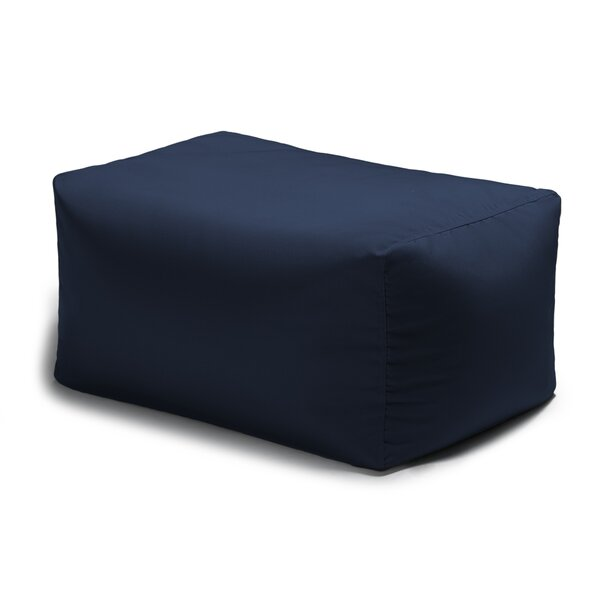 Maarten Outdoor Bean Bag Ottoman by Hashtag Home