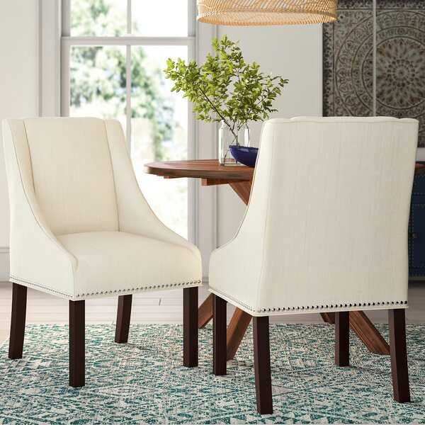 Garnica Upholstered Dining Chair (Set of 2) by Darby Home Co
