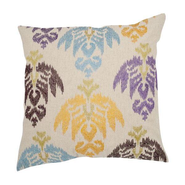 Dina Cotton Throw Pillow (Set of 2) by Safavieh