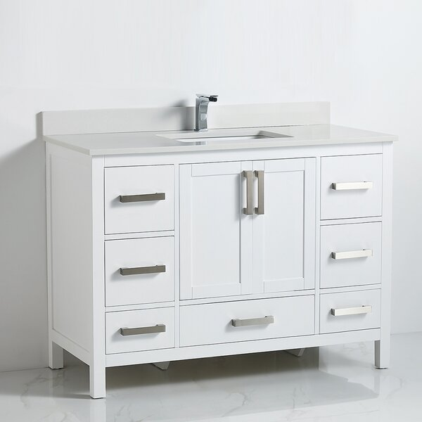 Afina 48 Single Bathroom Vanity Set