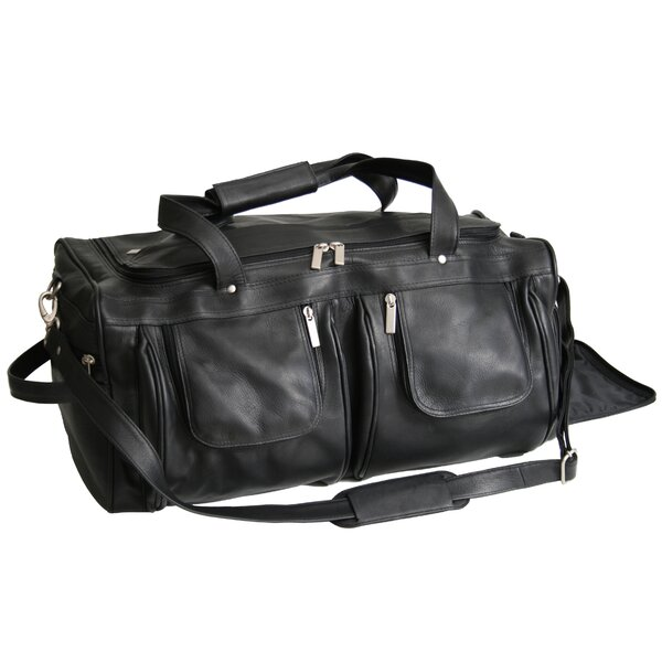 Luxury Colombian Genuine 21.5 Leather Carry-On Duffel by Royce Leather