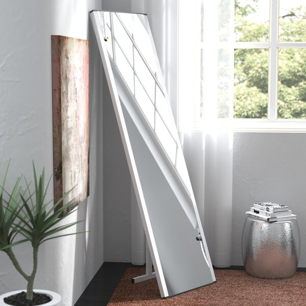 Contemporary Illuminated LED Free-Standing Full Length Mirror by Latitude Run
