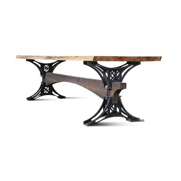 Mairead Solid Wood Dining Table by 17 Stories 17 Stories