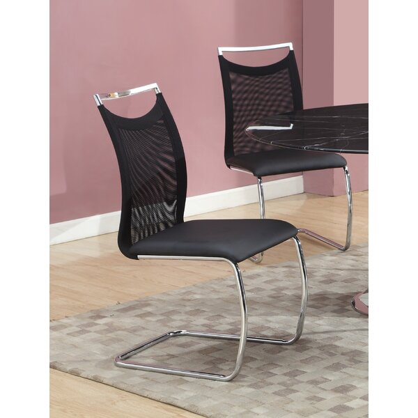 Jessy Upholstered Dining Chair (Set Of 2) By Orren Ellis