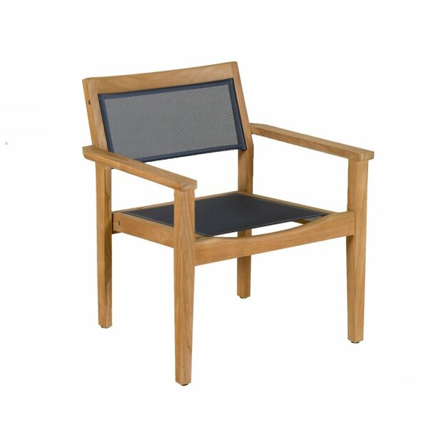 Valteck Teak Patio Chair (Set of 4) by Les Jardins