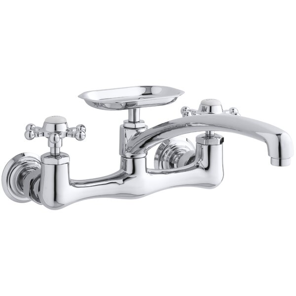 Antique Double Handle Kitchen Faucet by Kohler