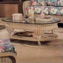 Yogyakarta  Coffee Table by South Sea Rattan