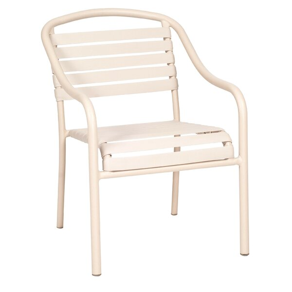 Baja Patio Dining Chair- Stackable by Woodard