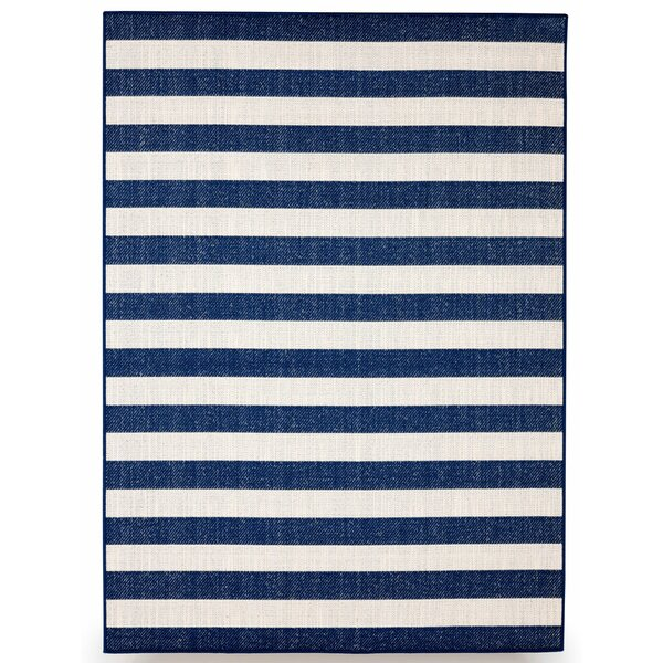Naples Royal Blue Indoor/Outdoor Area Rug by Budge Industries