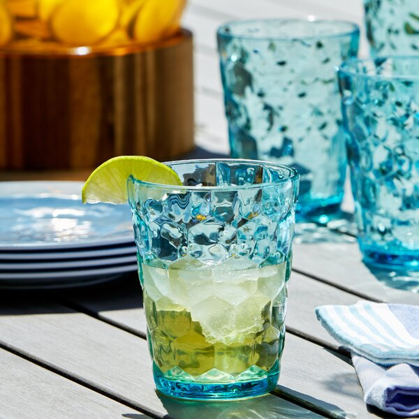 Honeycomb Plastic Cocktail Glasses (Set of 6) by Birch Lane™
