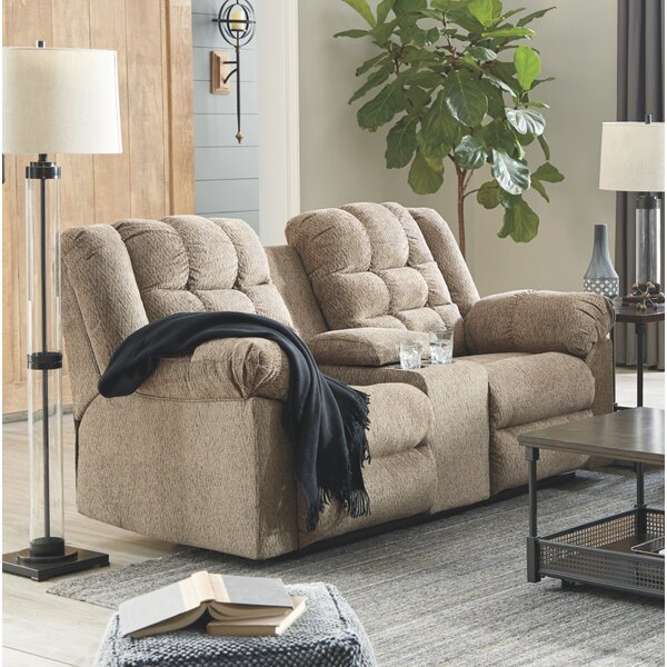 Modern Style Raine Reclining Loveseat by Red Barrel Studio by Red Barrel Studio