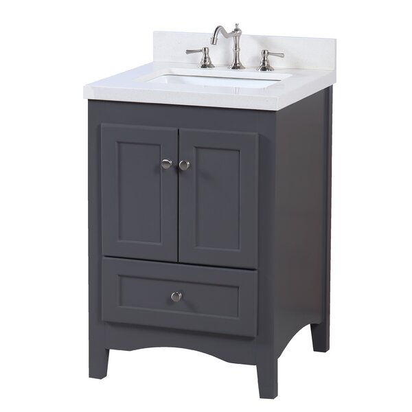 Abbey 24 Single Bathroom Vanity Set by Kitchen Bath Collection