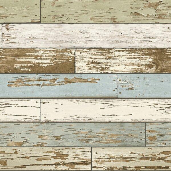 Old Salem 18 x 20.5 Wood Wallpaper by WallPops!