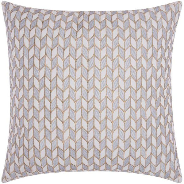 Hila Block Chevron Cotton Throw Pillow by Corrigan Studio