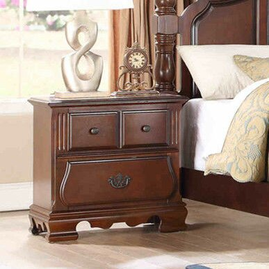 Milazzo 3 Drawer Nightstand by Astoria Grand