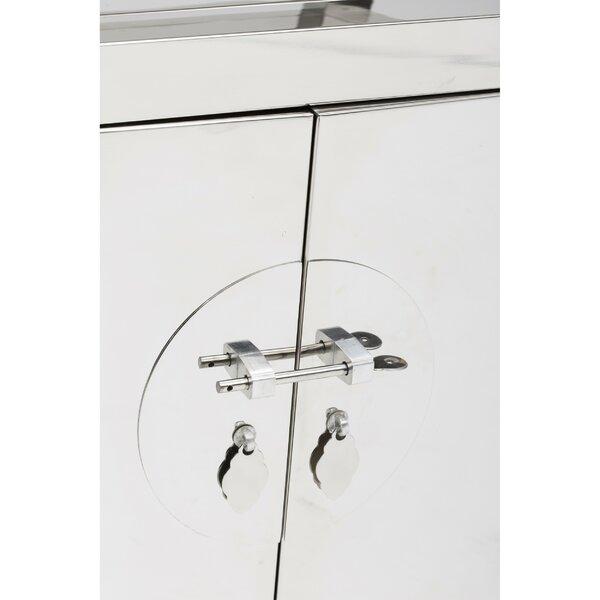 Lexus Stainless Steel Sideboard By Brayden Studio