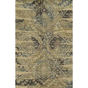 Online Reviews Laboy Hand-Knotted Area Rug By Bloomsbury Market