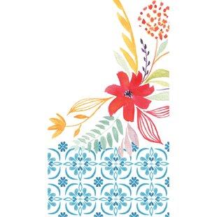 Blue Floral Towels Wayfair