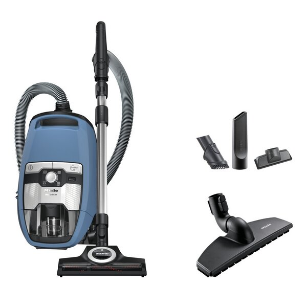 Blizzard CX1 Turbo Team Bagless Canister Vacuum by Miele