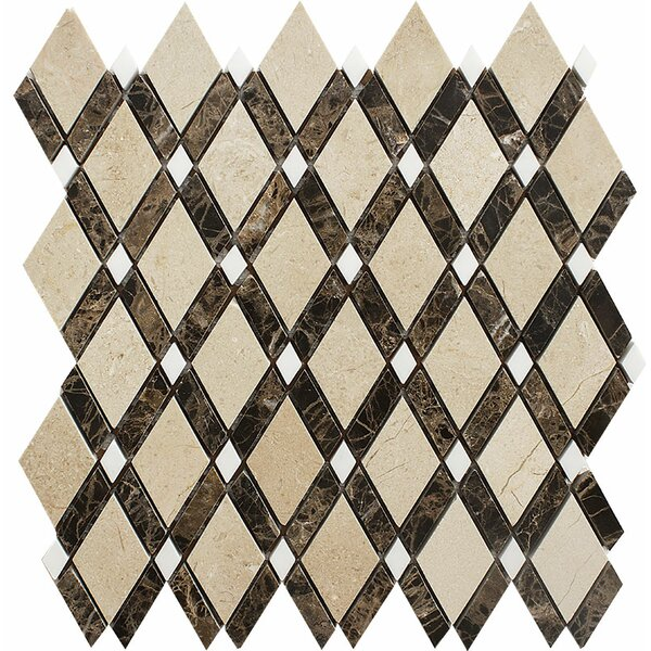 Ensenada Diamond Mosaic Tile by Parvatile