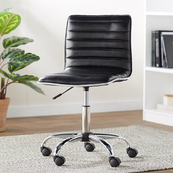 Calhoon Mid-Back Desk Chair by Wade Logan