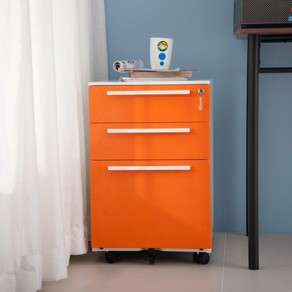 Montagna 3-Drawer Vertical Filing Cabinet by Ebern Designs