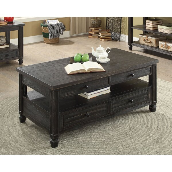 Massimo Lift-Top Coffee Table by Alcott Hill