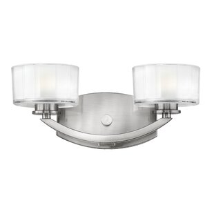 Affordable Lutz 2-Light Vanity Light By Latitude Run
