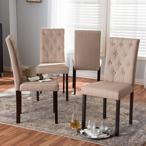 Baxton Studio Andrew Side Chair (Set of 4) by Wholesale Interiors