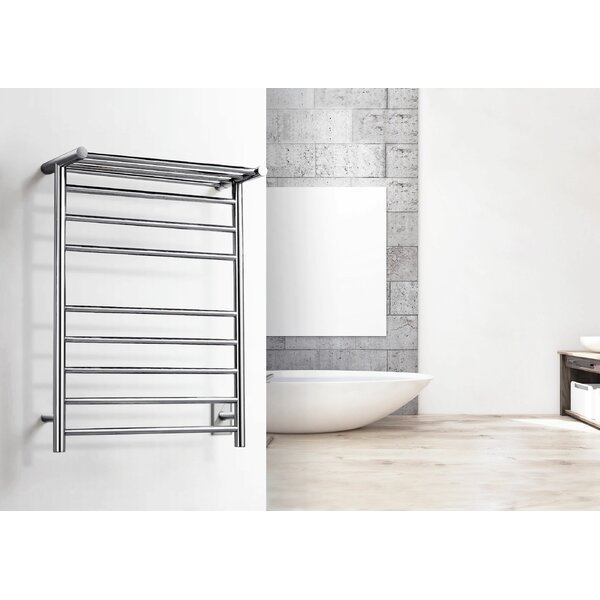 Elevate Huron Wall Mounted Electric Towel Warmer by WarmlyYours