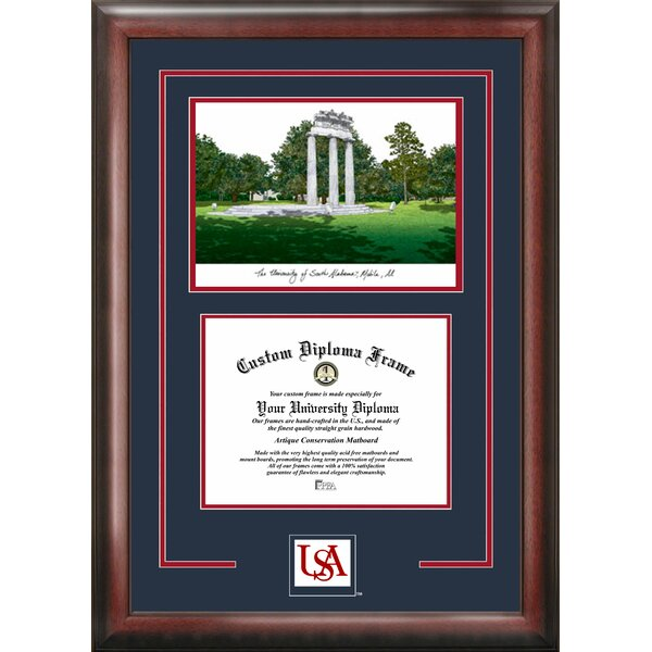 NCAA Spirit Graduate Diploma Picture Frame by Campus Images