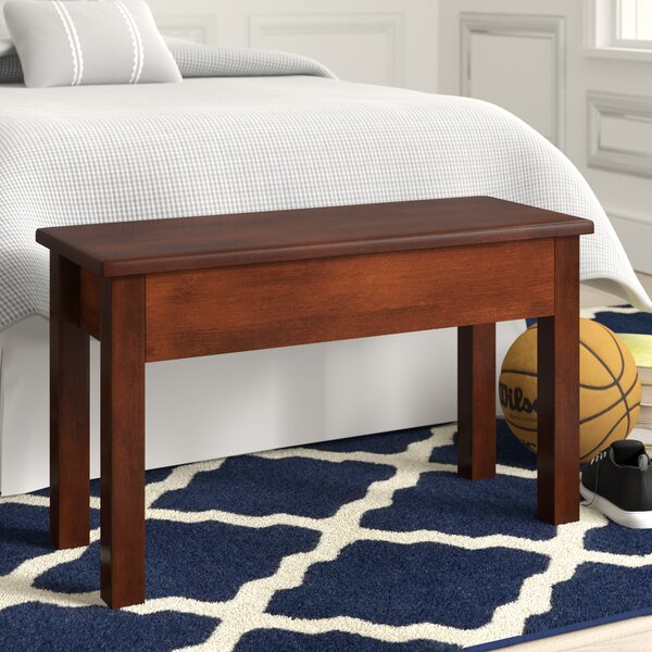 Alameda Wood Storage Bench by Grovelane Teen