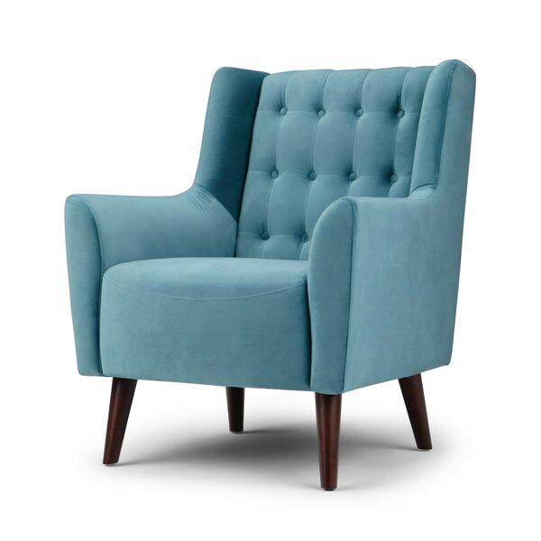 Lyla Wingback Chair by Brayden Studio