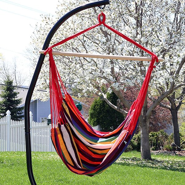 Sisk Jumbo Extra Large Chair Hammock with Stand by