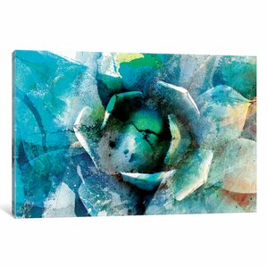 'Agave Abstract I' Graphic Art Print on Wrapped Ca