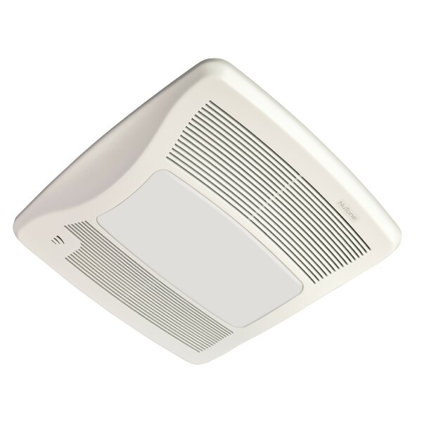 Ultra Series 110 CFM Energy Star Bathroom Fan with Light and Humidity Sensing by Broan
