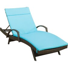 Skowhegan Chaise Lounge with Cushion (Set of 2)