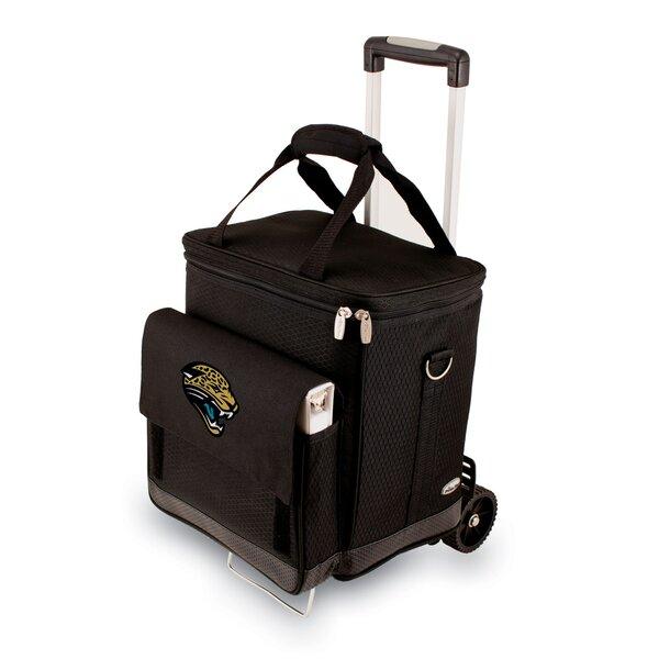 NFL Digital Print Cellar with Trolley in Black by LEGACY