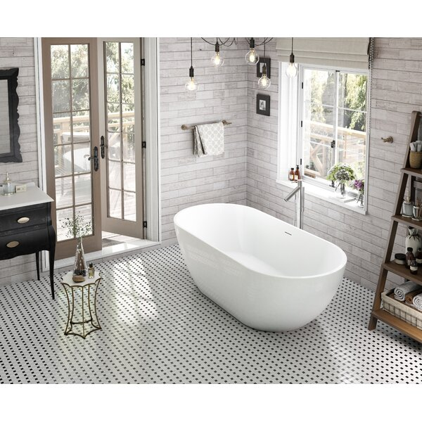 Onsen 71 x 31.5 Freestanding Bathtub by Wet Republic